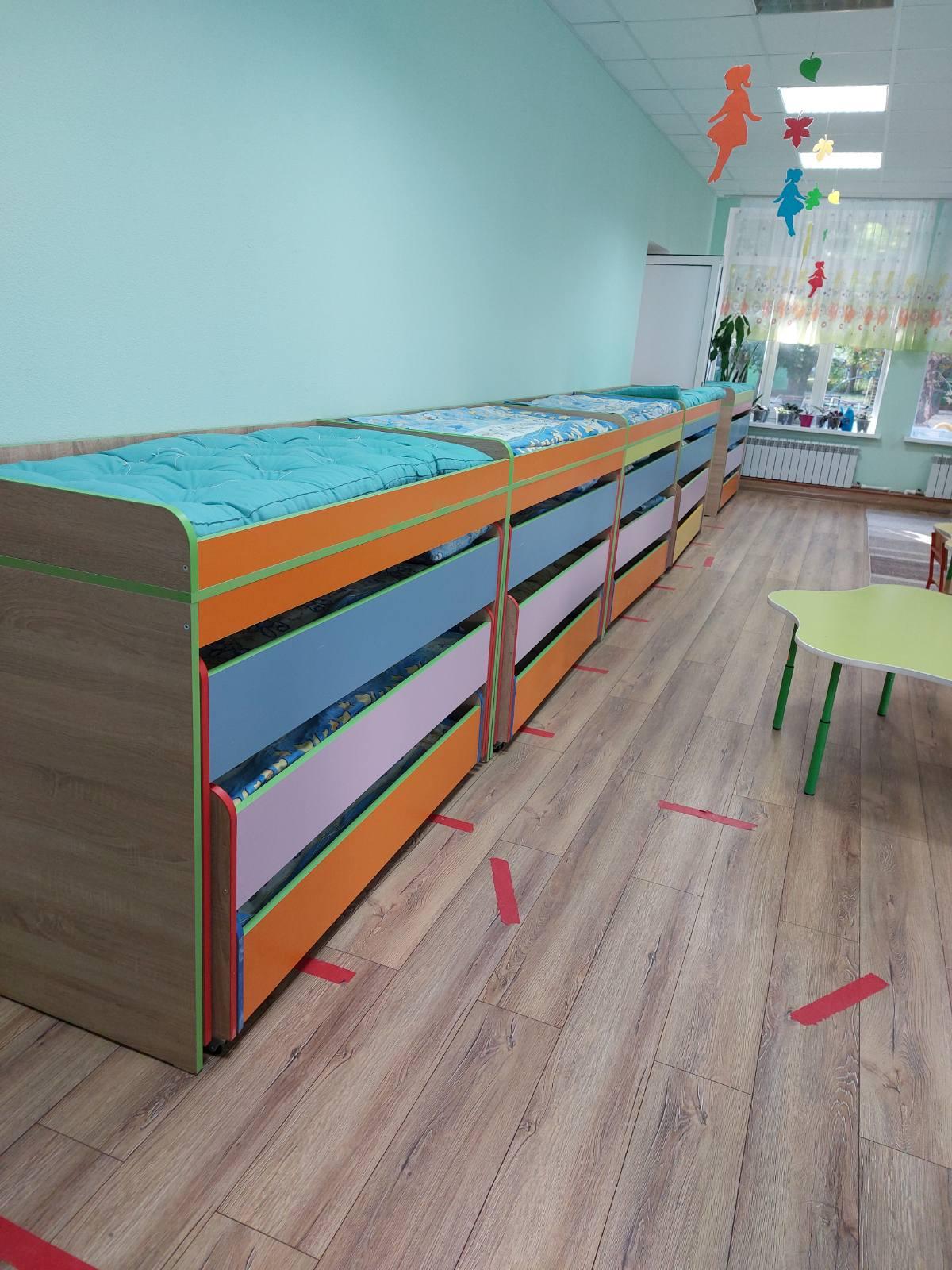 Instituția a fost asigurată de către DETS Botanica cu 8 paturi noi cu 4 nivele